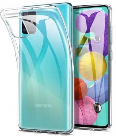 Coque silicone transparente A51