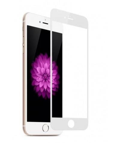 IPHONE 7+/ 8+ Verre trempé Full Blanc