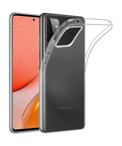 COQUE SILICONE TRANSPARENTE Samsung A72