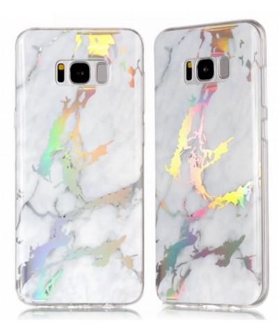 COQUE MARBRE HOLOGRAPHIQUE Samsung S8