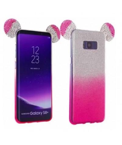 COQUE OREILLES STRASS Samsung Note 4
