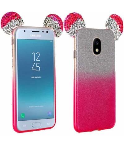 COQUE OREILLES STRASS Samsung S8