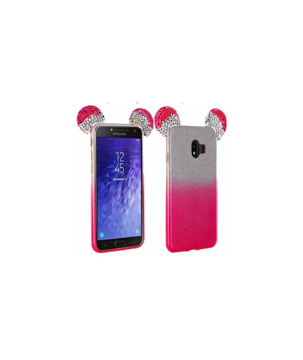 iPhone 6+ / 6S+ Arrière PAILLETTES DECO OREILLES