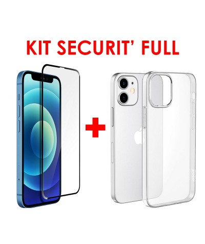 KIT SECURIT' FULL iPhone 12 MINI 5.4