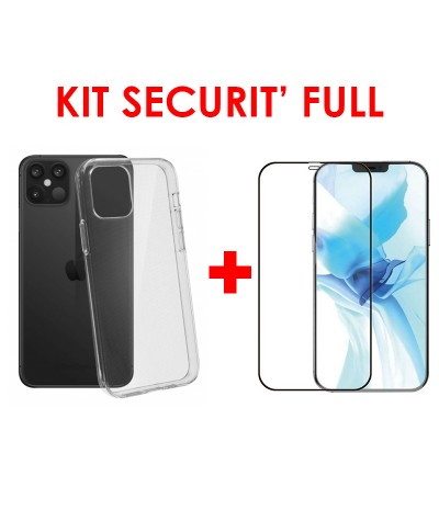 KIT SECURIT' FULL compatible iPhone 12 PRO MAX 6.7