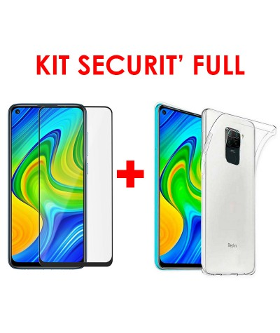 KIT SECURIT' FULL compatible Redmi Note 9