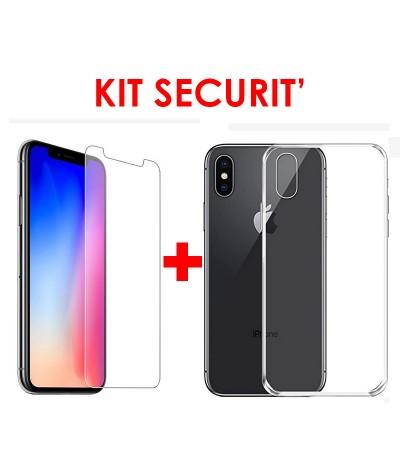 KIT SECURIT' iPhone X / XS