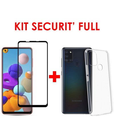KIT SECURIT' FULL compatible Samsung A21s