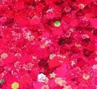 Rose foncé avec coeur